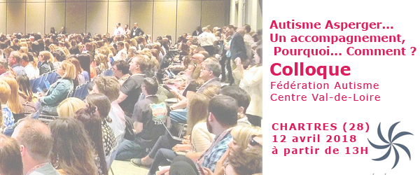Colloque Asperger Chartres 12 avril 2018